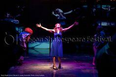 Oregon Shakespeare Festival. PARTY PEOPLE (2012): Miriam A. Laube, Ensemble. Photo: Jenny Graham.