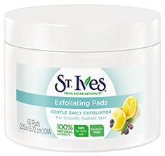 St Ives Face Care Pads, Exfoliating Pads 60 Count Review