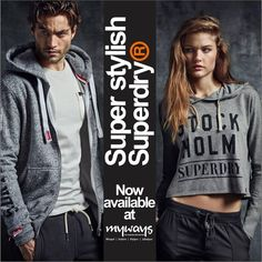 Loved by celebs the world over, the super smart and super cool, #SUPERDRY #Apparels are making the #Fashion lovers go crazy at Myways Store, Bhopal. Come and explore these awesome #Clothes.