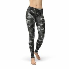 Avery Black Hex Camo Leggings Sale, Camo Leggings, Printed Leggings, Workout Leggings, Women's Leggings, Leggings Fashion, Tights, Pattern Leggings, Lounge Pants