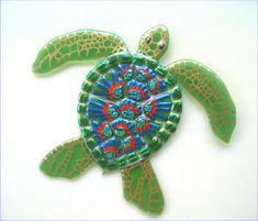 Mosaic Sea Turtle Images The Following Pictures Were