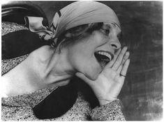 'Lilya Brik' de Alexander Rodchenko (1891-1956, Russia)
