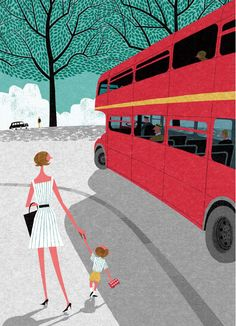 London In The Summer Print By Ryo Takemasa – Magma