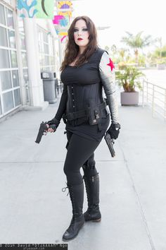 Winter Soldier #Rule63 #cosplay | Long Beach Comic Con 2014 - Saturday - DTJAAAAM