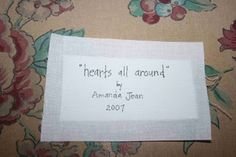 Simple quilt label tutorial by AmandaJean at Crazy Mom Quilts