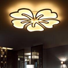 Ceiling Lights & Fans Humor Modern Led Ceiling Light Lamp Lighting Fixture Rectangle Office Remote Bedroom110v 220v Surface Mount Living Room Panel Control Back To Search Resultslights & Lighting