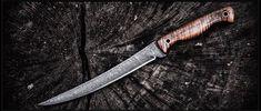 Custom Damascus Fillet Knife Handle Making, Knife Making, Steel Boots, Axe Handle, Boot Knife, Fish Knife, Fillet Knife, Knife Handles, Handmade Knives