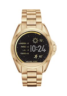 Michael Kors Access Bradshaw Touchscreen Smartwatch - Women Wrist Watch on YOOX. The best online selection of Wrist Watches Michael Kors Access. YOOX exclusive items of Italian and international designers - Secure payments Basket Michael Kors, Michael Kors Gold, Michael Kors Watch, Michael Kors Access, Outlet Michael Kors, Michael Kors Sneakers, Daniel Wellington, Emporio Armani, Marken Outlet