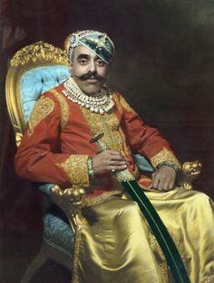 Bhupal Singh, acting Maharana of Mewar, opened his Udaipur palaces to Devika, Himanshu and the international crew filming THROW OF THE DICE in 1928.