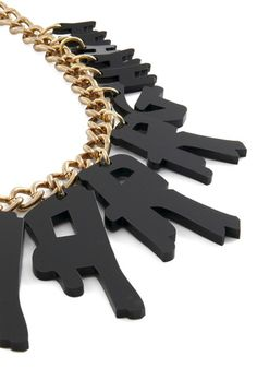 All Hannahs on Deck Necklace