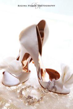 Bride's shoes and jewerly.  Orlando Wedding Photographer- Regina Hyman Photography- Destination Wedding Photographer- Disney Weddings- Disney Wedding Photographer www.reginahymanphoto.com