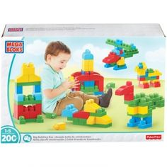Mega Bloks 200 Pc. Big Building Box