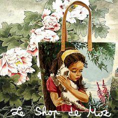 Sac Cabas Tapisserie Vintage, A French Tote Bag leshopdemoz.com
