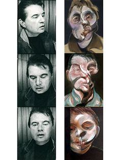Francis Bacon - instant photo