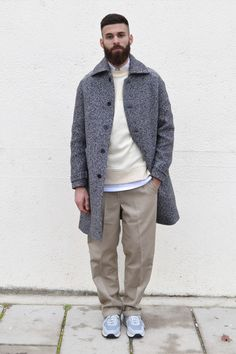 Another great example of how to rock the oversized tailoring trend that will be huge in 2015!