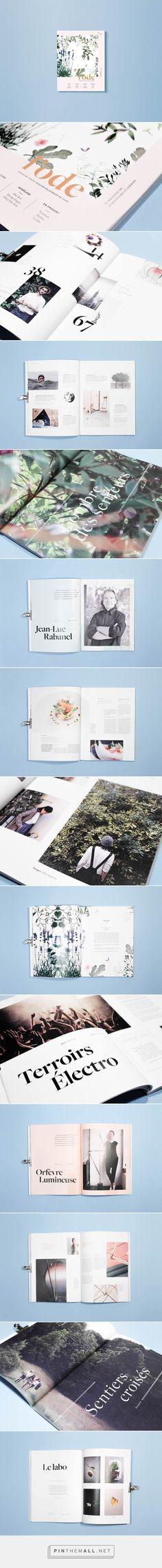 Editorial Design Inspiration: l'ode Magazine   Abduzeedo Design Inspiration - created via http://pinthemall.net