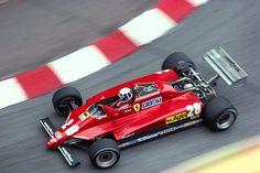 Didier Pironi, Ferrari 126C2, 1982 Monaco GP [908x607] - Imgur