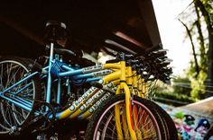 A rainbow of bicycles in Coyoacán. Voigtlander Bessa R3A with 40mm f/1.4. 1/500 @ f/2. Kodak Portra 160. #visibleinlight
