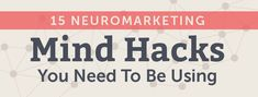 15 NeuroMarketing Mind Hacks You Need To Be Using http://coschedule.com/blog/neuromarketing-mind-hacks/?utm_term=READ+15+NeuroMarketing+Mind+Hacks+That+Will+Make+You+More+Effective&utm_content=bufferf772a&utm_medium=social&utm_source=pinterest.com&utm_campaign=buffer