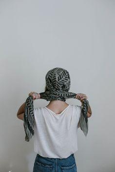 head scarf tutorial by Beth Kirby | Local Milk