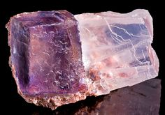Halite, NaCl, and sylvite, KCl, Carlsbad, New Mexico,105mm
