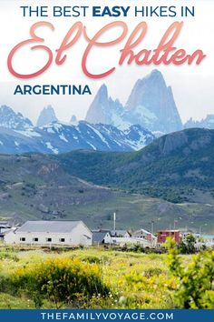 Plan your El Chalten trekking trip with our guide to the best El Chalten day hikes, where to eat in El Chalten, where to stay in El Chalten and more! South America Destinations, South America Travel, Travel Destinations, Holiday Destinations, Visit Argentina, Argentina Travel, Travel Guides, Travel Tips, Travel Stuff