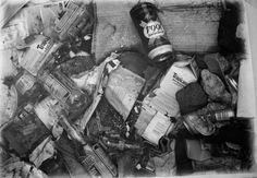 Rubbish found in Scotland. | 14 Breathtaking Drawings You Won't Believe Aren't Photographs - Paul Cadden