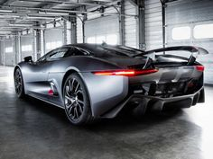 "The Jaguar C-X75 will be the car of the villain in the next Bond film. It's ""terrifyingly awesome"". :)"