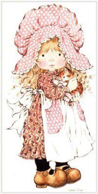 Holly Hobbie - Sarah Kay - - Digital Collage Sheet - Printable - For unlimited number of prints Sarah Key, Holly Hobbie, Hobbies For Women, Hobbies To Try, Illustrations Vintage, Hobby Horse, Digi Stamps, Vintage Cards, Paper Dolls