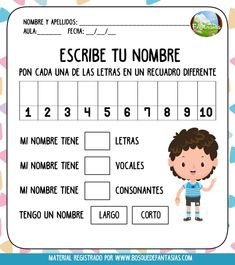 Spanish Fast For Kids Info: 6344518066 Name Activities, Spanish Activities, Preschool Activities, Spanish Language Learning, Teaching Spanish, Preschool Education, Bilingual Education, Pre Kindergarten, Classroom Language