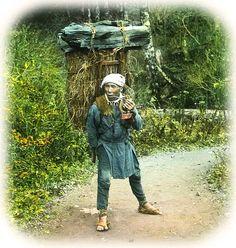 Laborer. Old Japan.