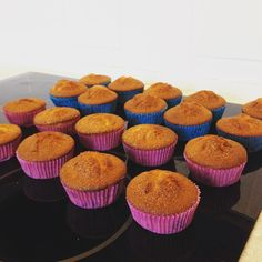 When your daughter turns 3 and you need to bake 26 muffins for her to bring to nursery