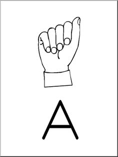 Clip Art - American Sign Language Posters and Worksheets Sign Language Book, Sign Language Phrases, American Sign Language, Language Arts, Classroom Posters, Writing Activities, Phonics, Literacy, Worksheets