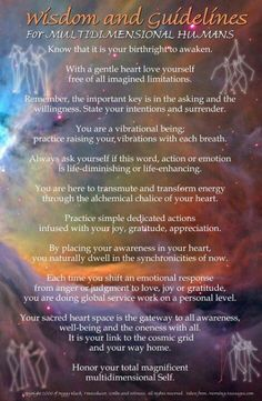 Everything we see, feel, touch, and think has energy. Everything is made-up of energy and that energy gets converted into something else. It's like a big circle. By doing things that you love doing... https://cherokeebillie.wordpress.com/2015/03/01/wisdom-for-multidimensional-humans/