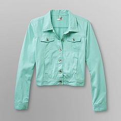 Style & Co Colored Wash Denim Jacket, Created for Macy's | Denim ...