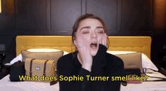 Perhaps most glorious, though, was a surprise cameo by her onscreen sister Sophie Turner. | Maisie Williams Has A YouTube Channel Now