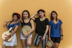 Book LADAMA for live entertainment in Brooklyn, New York! Performing at private parties, festivals, corporate events, weddings, and VIP parties.  They are a band of women who strive to engage youth in their communities through music-making, dancing, and composition through performance workshops.  They add a Brazilian and Columbian twist on American pop and jazz.  They sing songs in Spanish, Portuguese, and English.  Book them through Headliner.io for a fun, upbeat, and unforgettable party!