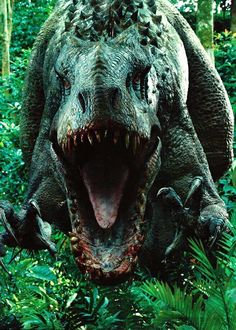 The Indominus Rex from Jurassic World. Indominus is a designed hybrid dinosaur with a base genome of a T-Rex, a hint of cuttlefish, a dash of tree frog, with just a pinch of. Jurassic World Indominus Rex, Jurassic World 2015, Jurassic Park Series, Jurassic Park 1993, Jurassic World Fallen Kingdom, Jurassic World Raptors, Michael Crichton, Dinosaur Art, Dinosaur Fossils