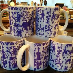 A portion of a Lace textile from The Gardner museum is now printed on a mug!