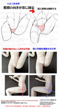 how to draw, groin, back of thigh / 個人メモ:骨盤の動き - pixiv Hand Drawing Reference, Art Reference Poses, Anatomy Reference, Anatomy Art, Anatomy Drawing, Manga Drawing, Drawing Techniques, Drawing Tips, Body Gestures