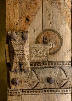 Old door details
