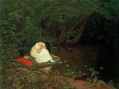 Melancholy Painting - Disappointed Love by Francis Danby