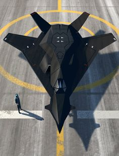 Ninja Stealth Fighter - video by Hideyoshi http://thedancingrest.com/2014/12/01/starships-skyports-and-steampunk-trains/