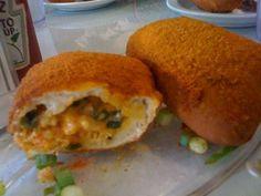 Stuffed Crawfish Beignets (Cajun Pistols) Recipe