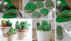 Para crear este cactus decorativo solo necesitas un par de elementos y un poco de tiempo para elaborarlo. Ten en cuenta que cualquier persona puede hacerlo, no es necesario saber mucho sobre manualidades.
