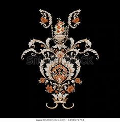 Find Decorative Elegant Luxury Designvintage Elements Baroque stock images in HD and millions of other royalty-free stock photos, illustrations and vectors in the Shutterstock collection. Motif Design, Border Design, Textile Design, Fabric Design, Pattern Design, Print Design, Baroque Pattern, Pattern Art, Print Patterns