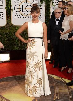 8180d22fe9a Rashida Jones - Golden Globes 2014 Red Carpet  Photo Rashida Jones is all  smiles as she hits the red carpet at the 2014 Golden Globe Awards held at  the ...