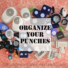 Do you have a collection of punches for scrapbooking and crafting? If your collection has grown, it may be time to find a way to get them under control! I've seen several other great ways to …