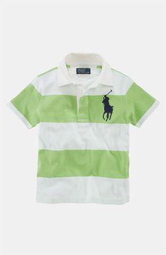 b3fa7494a3e835 Ralph Lauren Polo (Toddler) available at  Nordstrom Polo Outfit, Boys Wear,