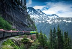 Stunning view train trips - particularly the Coast Starlight - LA to Seattle